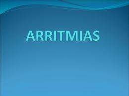 ARRITMIAS - ::.. Aula-MIR
