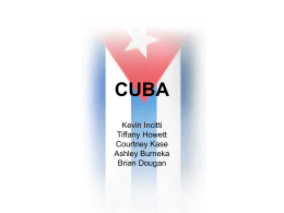 A Taste of Cuba: Food, Customs, and Material Life