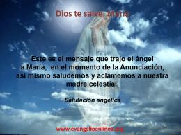 Diapositiva 1 - Evangelio en Linea