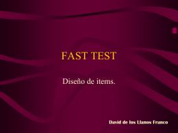 FAST TEST - GrupoInnoevalua : Inicio