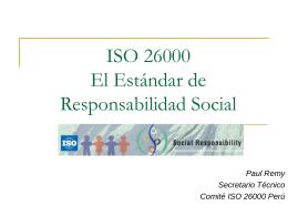 Diapositiva 1 - ::: ISO 26000