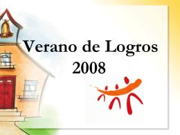 Verano de Logros 2008