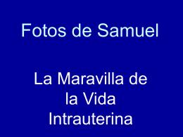 Fotos de Samuel