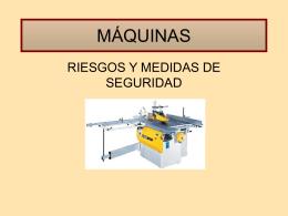 MAQUINAS - Bienvenido a RIDSSO