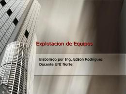 Ingeniero Edson