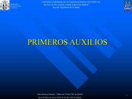 VIGILACIA DE LA SALUD DE LOS TRABAJADORES DEL CSIC