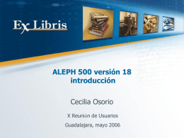 ALEPH Version 18