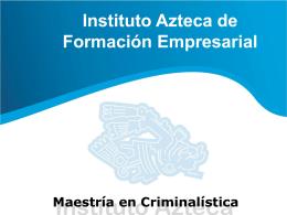 Diapositiva 1 - Instituto Azteca