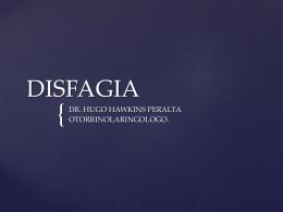 DISFAGIA - Clases y Libros