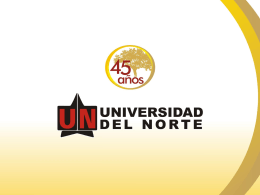Diapositiva 1 - Universidad del Norte