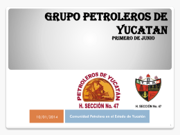 GRUPO PETROLEROS DE YUCATAN