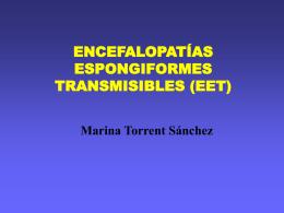 ENCEFALOPATIES ESPONGIFORMES TRANSMISIBLES (EET)
