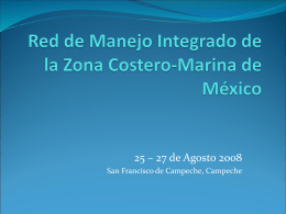 Red de Manejo Integrado de la Zona Costero