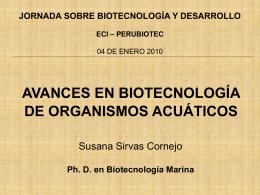 VENTAJAS de la Biotecnolog