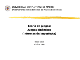 UNIVERSIDAD COMPLUTENSE DE MADRID Departamento …
