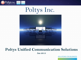 Poltys Unified Communication Souloutions