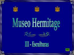 Museu Hermitage 3 Esculturas Afrescos