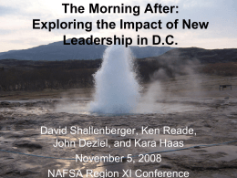 The Morning After: Exploring the Impact of New …
