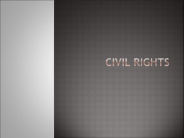 CIVIL RIGHTS - Aurora High School