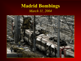ETA Bombing March 11, 2004