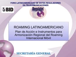 Itinerancia en Latinoamerica