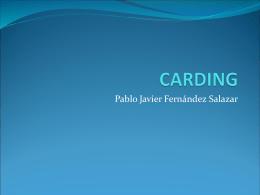 CARDING