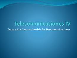 Telecomunicaciones IV