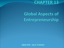 CHAPTER 4 Forms of Business Ownership and Franchising