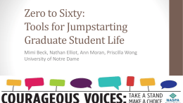 Enhancing Graduate Student Life in a Graduate Residential