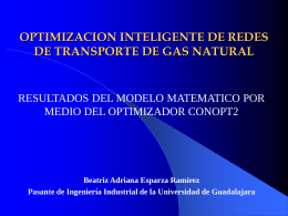OPTIMIZACION INTELIGENTE DE REDES DE TRANSPORTE …