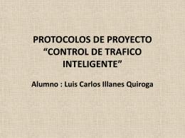 """PROTOCOLOS DE PROYECTO """"CONTROL DE TRAFICO …"""