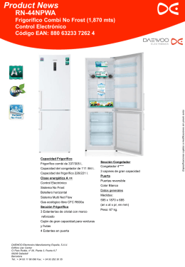 Diapositiva 1 - Daewoo Electronics