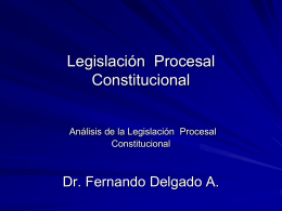 Modulo Procesal Constitucional