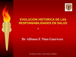 EVOLUCION HISTORICA DE LAS RESPONSABILIDADES EN …