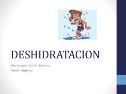 DESHIDRATACION - Clases y Libros