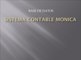 SISTEMA CONTABLE MONICA