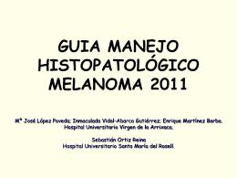 PROTOCOLO MELANOMA 2011