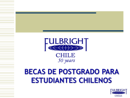 COMISION FULBRIGHT CHILE