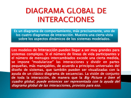 DIAGRAMA GLOBAL DE INTERACCIONES - DS-UFT