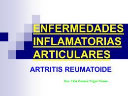 ENFERMEDADES INFLAMATORIAS ARTICULARES
