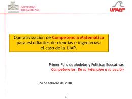 Diapositiva 1 - Universidad Iberoamericana Puebla