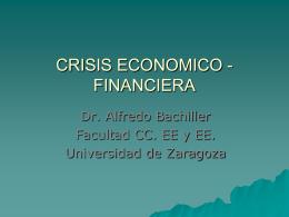 CRISIS ECONOMICO