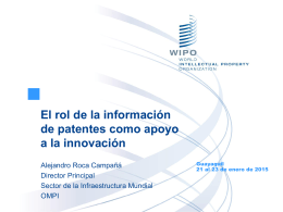 The Role of Patent, Scientific and Technical Information