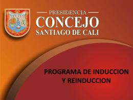 Diapositiva 1 - Concejo de Cali