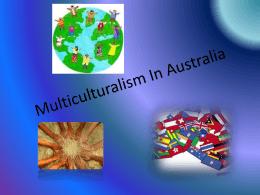 Multiculturalism In Australia