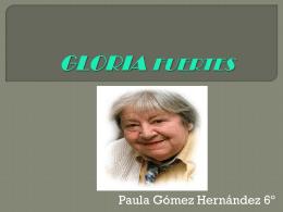 GLORIA FUERTES - CEIP ARTURO DUPERIER