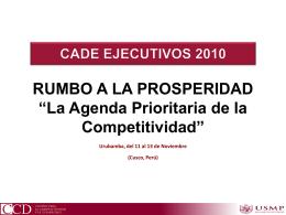 Diapositiva 1 - Asociacion Peruana de Agentes Maritimos