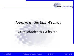Folie 1 - BBS Wechloy