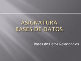 Sistemas de Datos II