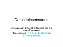 Datos telesensados